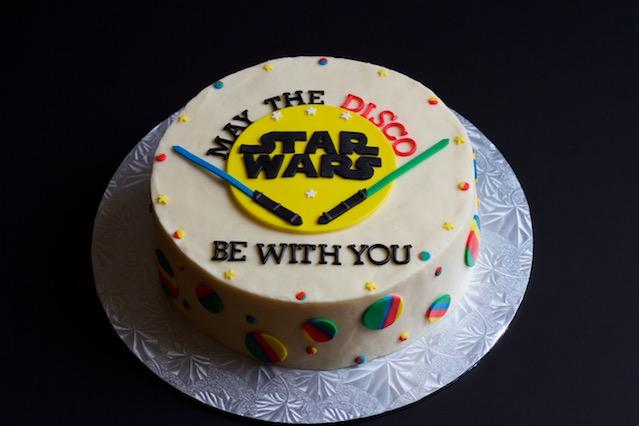 star wars disco cake // movita beaucoup