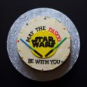 star wars disco cake // movita beaucoup
