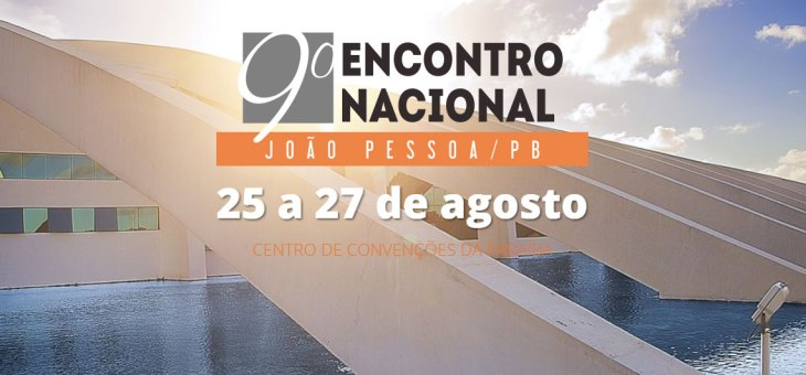9º encontro Nacional Anid em João Pessoa