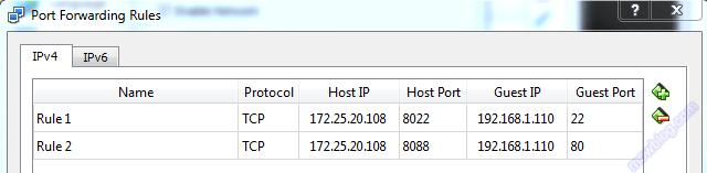 virtualbox_NET_Network_port_forwarding