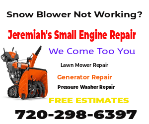 Lawn Mower Won't Stay On Repair Denver, CO