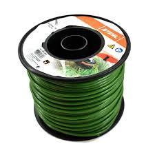 Line round ? 4.0mm x 87m dark green
