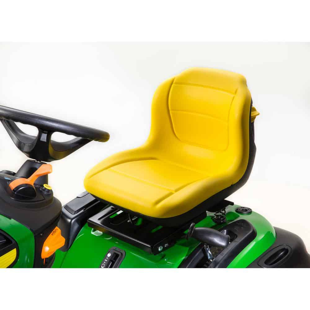 John Deere E180 54″ Deck 25HP Riding Lawn Mower – Mower Select