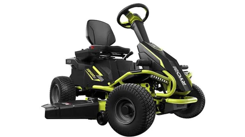 Ryobi 38 100 Ah Battery Rm480ex Electric Riding Mower