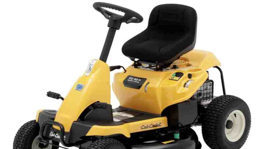 Cub Cadet CC30H 30″ Riding Mower With 382cc Rear Engine