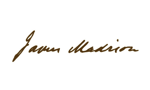 James Madison signature