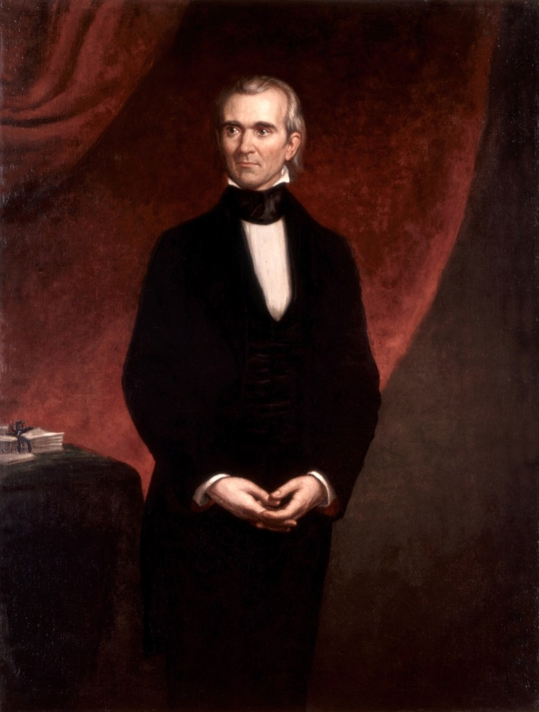 James K Polk, Official Presidential Portrait