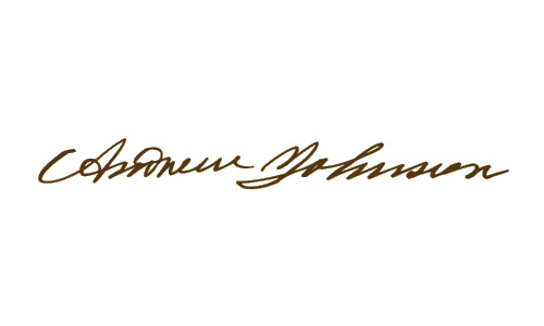 Andrew Johnson signature