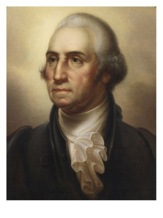 George Washington, portrait by Rembrandt Peale