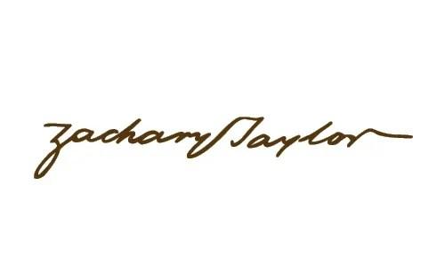 Zachary Taylor signature