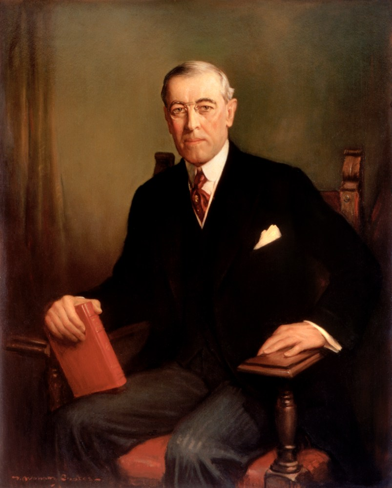 Woodrow Wilson, Official White House Portrait