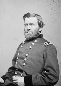 General Ulysses Grant, a 2-star General, 1864