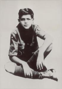 John F Kennedy as a Scout in 1930.