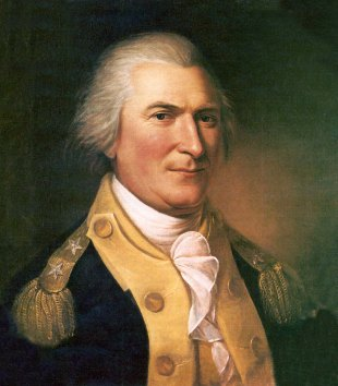 Arthur St. Clair - painting by Charles Wilson Peale.