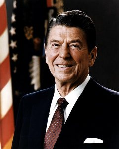 Ronald Reagan, Official White House Portrait Photo, 1981