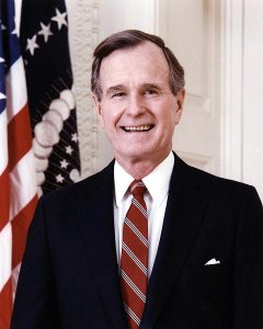 Official White House Portrait Photo, 1989