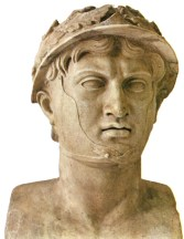 Bust of Pyrrhus, or Pyrros, King of Epirus (319/318 BCE–272 BCE)