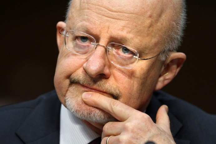 In an interview with National Journal, Director of National Intelligence James Clapper clarified remarks over NSA snooping. (AP Photo/Jacquelyn Martin)