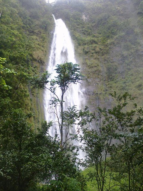 Waimoku Falls. Photo from the Haleakala National Park Facebook page.