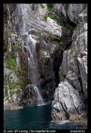 Waterfall, Cataract Cove. Photo courtesy of Terra Galleria. www.terragalleria.com.
