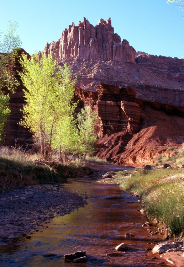 The Castle and Sulphur Creek. From the Park's website.