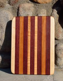 #29: Hard Maple, Purpleheart, Teak.