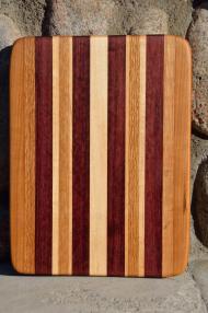 #30: Cherry, Red Oak, Purpleheart, Hard Maple.
