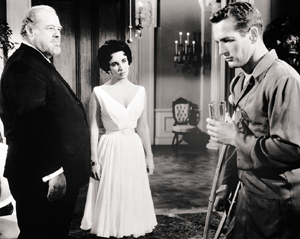 The 1958 film starred Burl Ives, Elizabeth Taylor and Paul Newman.