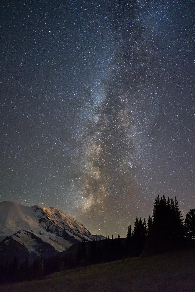 Mout Rainier National Park. Photo: Chris Weber. Tweeted by the US Department of the Interior, 7/27/14.