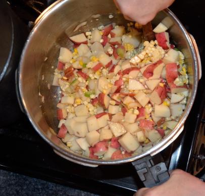Bacon Corn Chowder 13