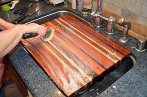 Cutting Board Scrub