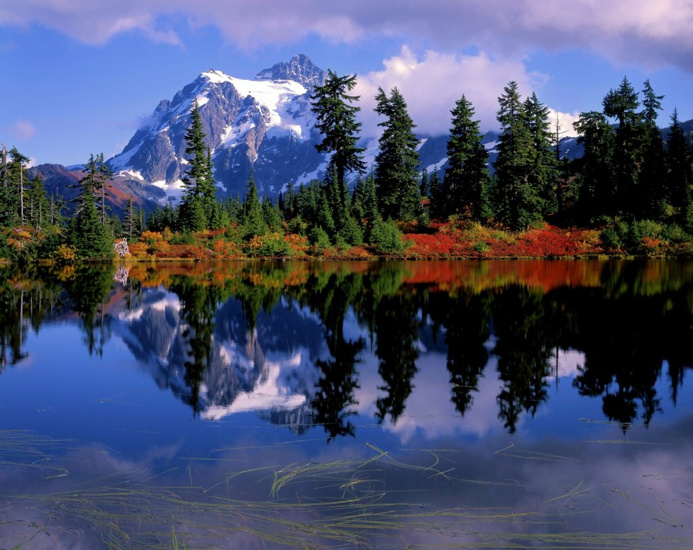 Washington's North Cascades National Park, which is home to more glaciers than any National Park in the lower 48. Posted on Tumblr by the US Department of the Interior, 10/1/14.