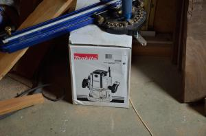 Love my new Makita RP2301FC 3-1/4 HP Plunge Router (Variable Speed) . Thank you, Amazon Prime!