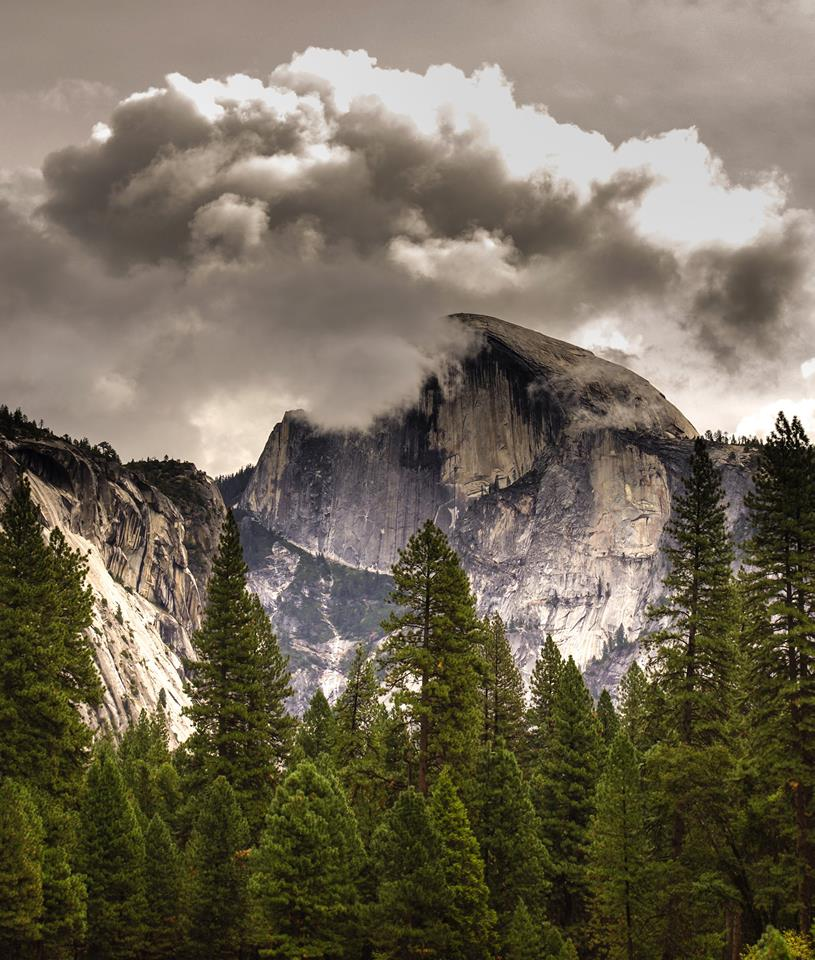Half Dome. Yosemite National Park. Tweeted by the US Department of the Interior, 10/17/14.