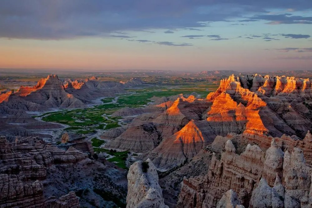 Badlands National Park. Tweeted by the US Department of the Interior on the 36th anniversary of the Park's designation as a National Park, 11/10/14.