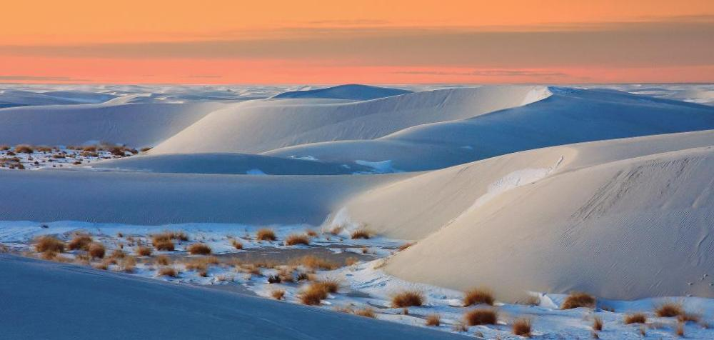 New Mexico's White Sands National Monument. Photo by Donna Schneider. Tweeted by the US Department of the Interior, 11/25/14.