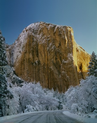 A dusting of snow turns Yosemite National Park in California into a winter wonderland. Ed Cooper captured this winter view of the southwest face of El Capitan — the largest monolith of granite in the world. Rising more than 3,000 feet above Yosemite Valley's floor, El Capitan is a favorite for experienced rock climbers. Tweeted by the US Department of the Interior, 12/19/14.