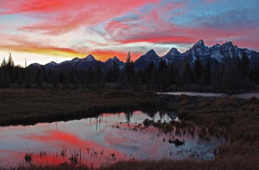 Grand Teton National Park. Photo by Christina Adele Warburg. Tweeted by the US Department of the Interior, 2/4/15.