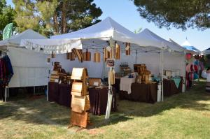This was our booth at the California Poppy Festival, 4/18-19/2015. Six months later, our booth is very similar ... but will be totally different in 2016!
