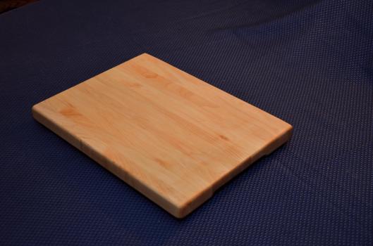 """Cutting Board 15 - 034. Hard Maple, edge grain. 12"""" x 16"""" x 1""""."""