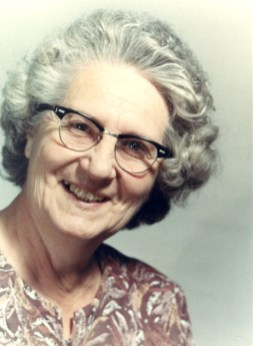 Ruth Mary Decker Shull (1906 - 1977), my mother's mother. My Grandmother.