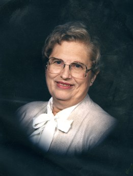 Letha Marie Shull Mowry, my mother. 1987.