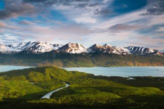 Ever see the midnight sun in Alaska? If not, you're going to want to check out this gorgeous photo of Kenai National Wildlife Refuge. Photo by Gareth Blakemore. Posted on Tumblr by the US Department of the Interior, 6/24/15.