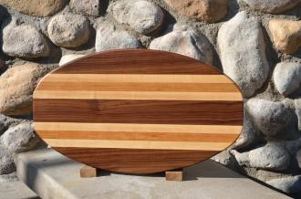 Surfboard 15 - 11. Black Walnut, Hard Maple & Cherry.