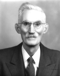 James Woods Decker. Graham High School teacher, principal and Grandfather.