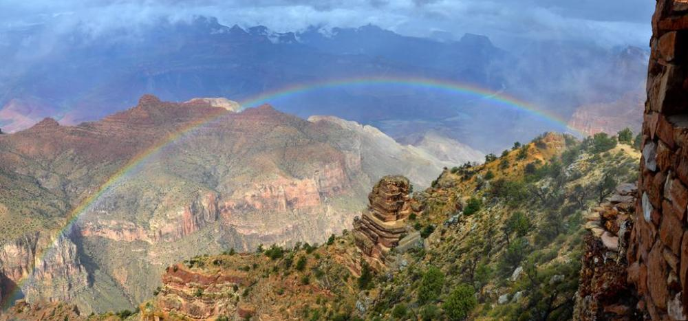 Grand Canyon National Park. Tweeted by the US Department of the Interior, 10/5/15.