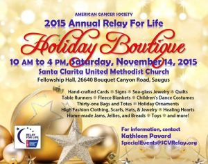 Relay For Life Holiday Boutique