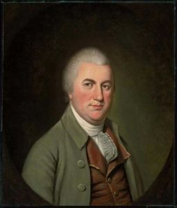 Nathaniel Gorman. Portrait by Charles Willson Peale.