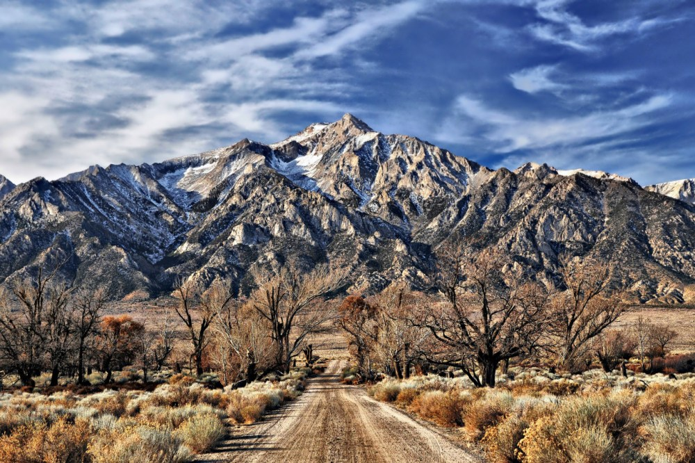 The rugged beauty of Mount Williamson looms over Manzanar National Historic Site in California. Established to preserve the stories of the internment of nearly 120,000 Japanese Americans during World War II, Manzanar serves as a reminder of a dark period in our history. For more information: http://www.nps.gov/manz. Photo by Susan Fouts. Posted on Tumblr by the US Department of the Interior, 2/16/16.