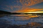 Yellowstone NP 37 – sunset